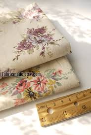Fabric Shabby Chic by Japanese Fabric Shabby Chic Linen Cotton Fabric Cloth Purple