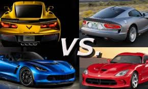 dodge challenger vs viper pony cars vs cars