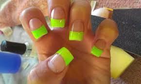 Food Nail Art Designs 14 Bright And Easy Neon Green Nail Art Designs