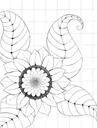 sunflower seeds coloring pages butterfly sheet page van gogh