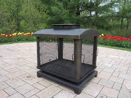 amazon com oakland living outdoor fire place fire pits