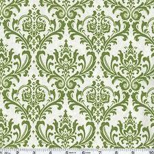 green damask home decor fabric home decor
