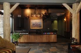 Rustic Reception Desk Lodge Office Reception Furniture Google Search Receptions
