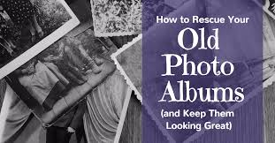 Inexpensive Photo Albums How To Rescue Your Old Photo Albums And Keep Them Looking Great