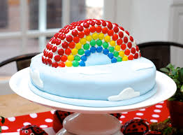 rainbow birthday cake that u0027s quite nice