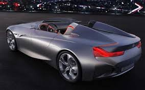 bmw sport car 2 seater futuristic two seater bmw concept revealed telegraph