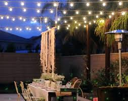 String Lights On Patio Patio String Lights And Lighting Patio String Lights Outdoor