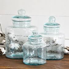 vintage glass canisters kitchen best 25 glass canisters ideas on storage