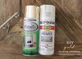 how to spray paint cabinet hardware transform cabinet hardware propes design diy