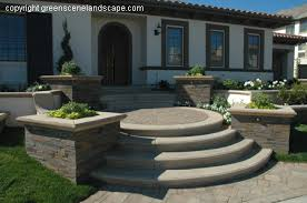 Front Entry Stairs Design Ideas Decorations Appealing Front Entry Stairs Design Ideas Concrete