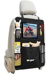 protection siege auto arriere organiseur de siège arrière support pour et tablette par