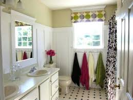 Black And Yellow Bathroom 3 Black And White Horizontal Stripe Shower Curtain Blue Yellow And