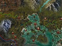 Map Running Routes by Player Made Modifications Cartography Index Guild Wars Wiki Gww
