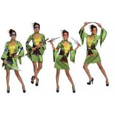 Ninja Turtle Halloween Costume Women Teenage Mutant Ninja Turtles Costume Teen Group Halloween