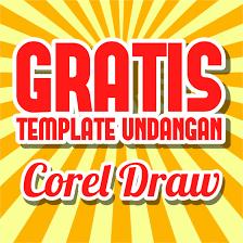 template undangan keren belajar tutorial gratis 10 template undangan corel draw keren