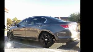 honda accord 2010 black cars plasti dipped rims on 09 honda accord youtube