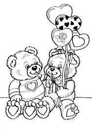 valentine day printable coloring pages valentines day pictures to