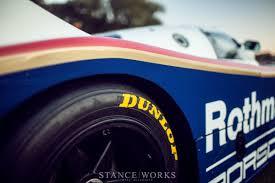 lexus is 250 dunlop tires porsche 962 dunlop tires rothmans rear end jpg 1200 800 racing