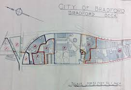 Radford University Map Plan U2013 Bradford Local Studies
