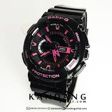 Jam Tangan Baby G jual baby g ba111 1a black pink yoona jamtangansby