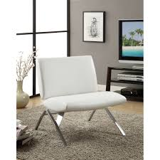 White Leather Accent Chair Modern Leather Accent Chairs Tweetalk