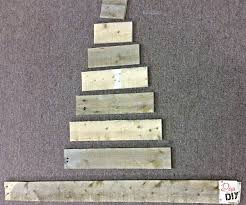 pallet christmas tree make a rustic christmas tree from pallet wood of diy