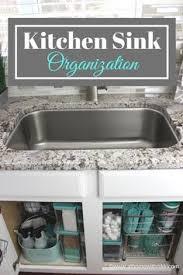 Best  Kitchen Sink Organization Ideas On Pinterest Kitchen - Kitchen sink area