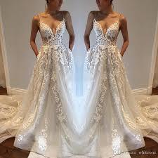 wedding dress with pockets discount bohemia wedding dresses with pockets spaghetti