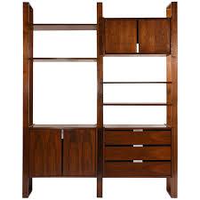Mid Century Modern Bookcase Used Nearly New U0026 Vintage Bookcases And Etageres Viyet