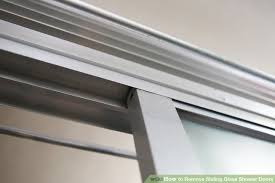 how to remove sliding glass shower doors 6 steps with pictures
