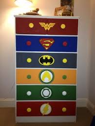 Diy Superhero Room Decor Kid U0027s Superhero Diy Dresser Makeover Bedroom Ideas Paint Idea