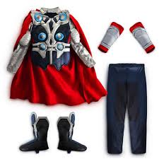 Thor Halloween Costumes Amazon Disney Store Avengers Deluxe Thor Costume