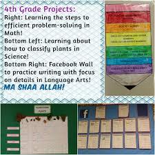 2015 16 q1 u2013 4th grade class projects u2013 al huda pa