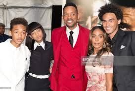biography will smith jaden smith willow smith will smith jada pinkett smith and trey smith picture id169647965
