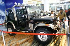 classic jeep modified the mahindra thar adventure off roader might see an indian launch