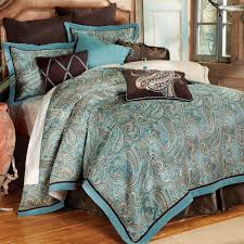 Teal And Grey Bedding Sets Western Bedding Cowboy Bed Sets At Lone Western Decor