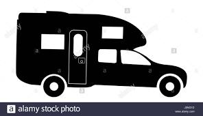 volkswagen hippie van clipart camper van silhouette stock photos u0026 camper van silhouette stock
