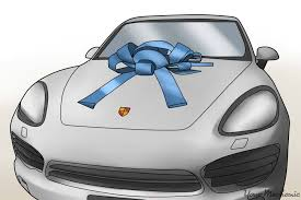 new car gift bow how to gift a car yourmechanic advice