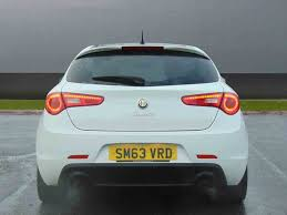 used alfa romeo giulietta hatchback petrol in solid white from