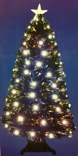 6ft fibre optic tree lights decoration