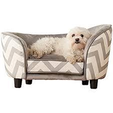 amazon com enchanted home pet snuggle pet sofa bed 26 5 by 16