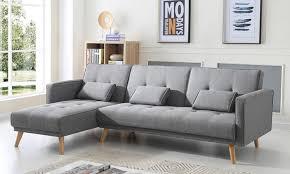 canapé de marque groupon goods global gmbh canapé convertible scandinave d angle