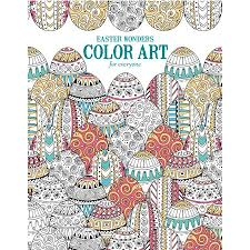 Easter Cookie Decorating Kit Walmart by Easter Wonders Color Art For Everyone Coloring Book