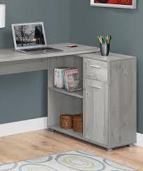 monarch specialties gray corner fit storage desk zulily
