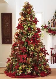 Decorated Christmas Trees Ideas Decoracion De Navidad Rojo Con Dorado Red Christmas Christmas Tree