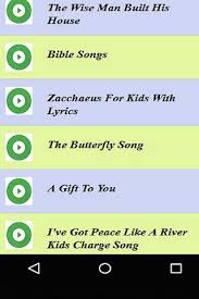 children s christian songs for sabbath school android apps on