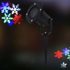 snowflake lights led christmas moving snowflake lights show laser projector dailysale