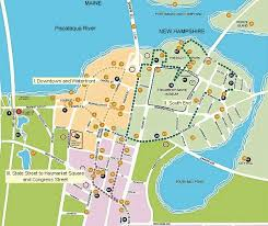map usa new hshire follow the portsmouth new hshire harbour trail yes harbour