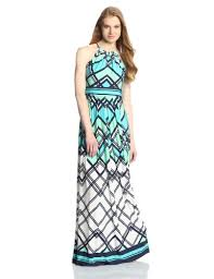 eliza j neelimas eliza j women s halter printed maxi dress