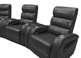 home theater couch bravo 7 piece power reclining home theater sectional black